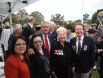 03. Margaret and Cheryl Cumines and Kathie and Doug Blunt with Wayne Swan.